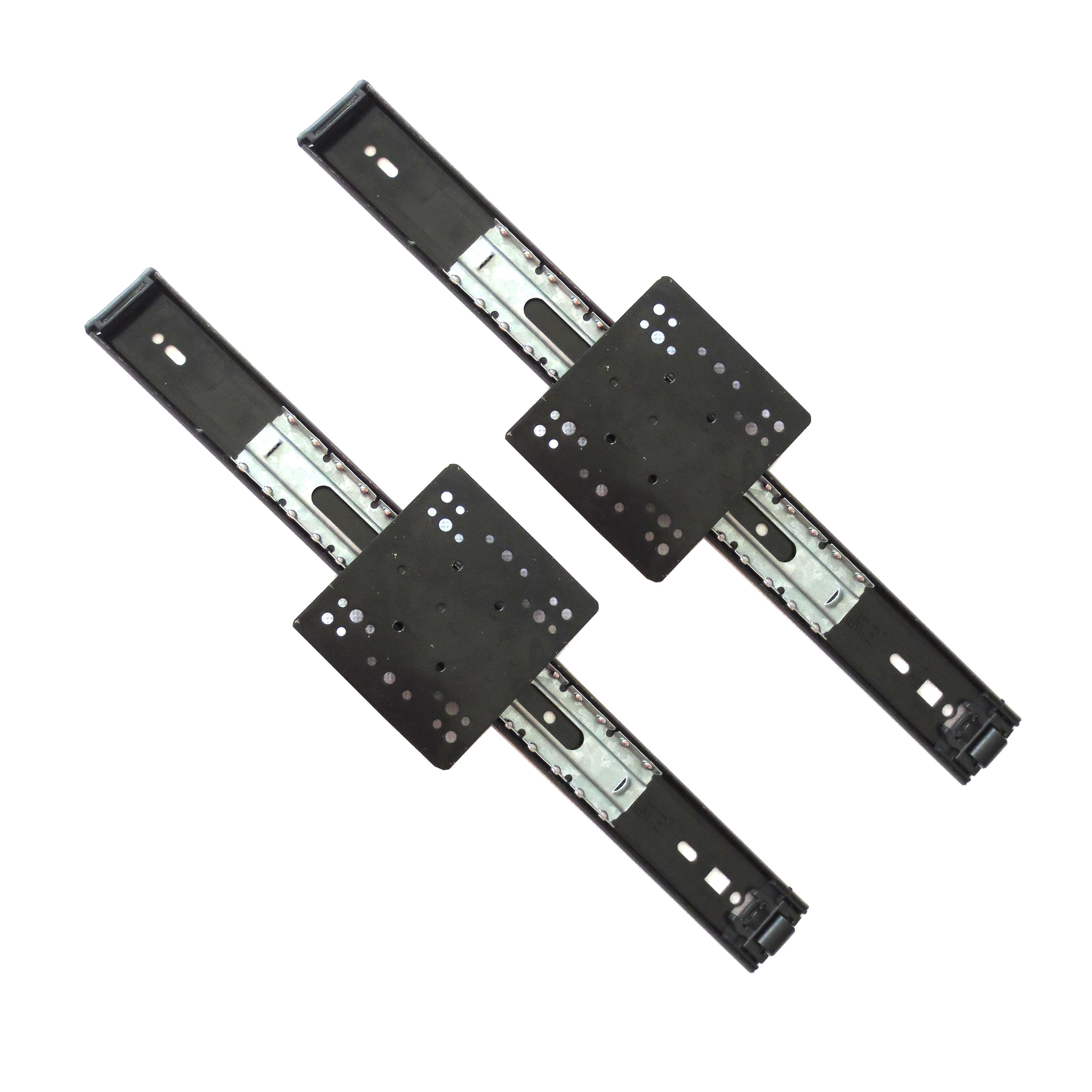 35mm寬《方板滑軌》 / 鋼柜滑軌  / 電視柜滑軌